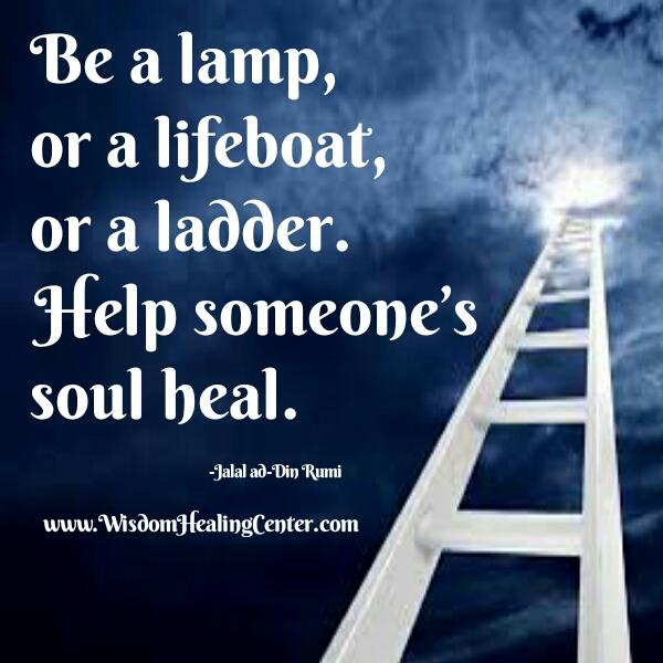 Help someone's soul heal
