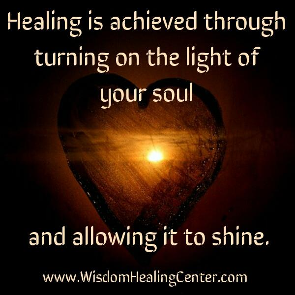 How Healing is achieved?