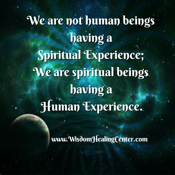 We are not Human beings