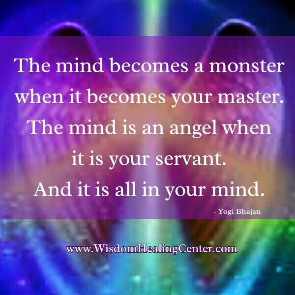 When your mind becomes a monster