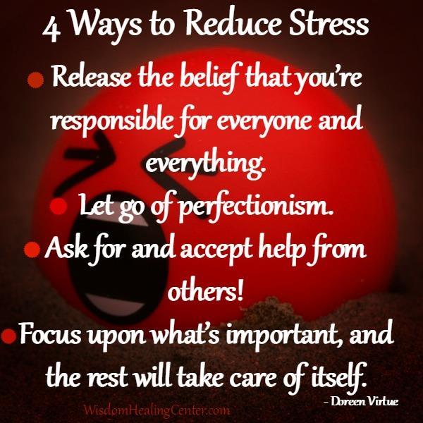 4 Ways to Reduce Stress