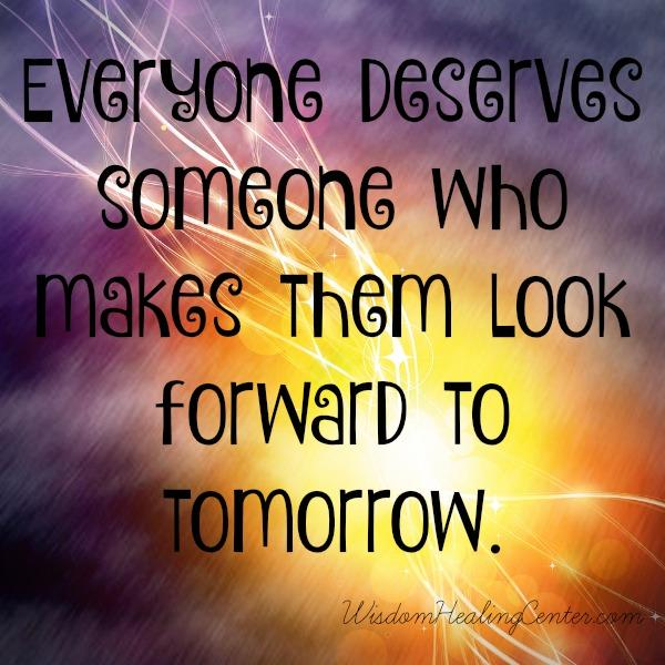 Everyone deserves someone