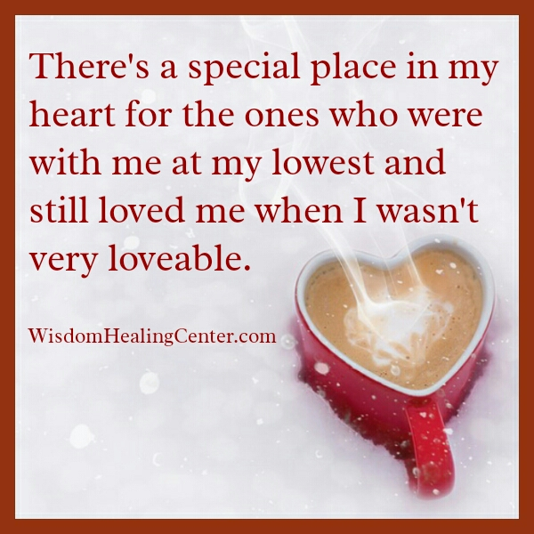 Have special place in your heart for someone