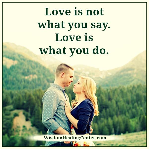 love-is-not-what-you-say